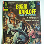 Gold Key Comic Boris Karloff Tales of Mystery No. 41, June 1972