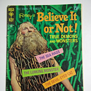 Gold Key Comics Ripley's Believe it or Not No. 19, April 1970
