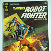 Gold Key Comics Magnus Robot Fighter No. 12, Nov. 1965
