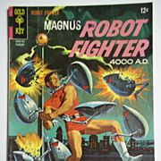 Gold Key Comics Magnus Robot Fighter no. 17, Feb. 1967