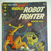 Gold Key Comics Magnus Robot Fighter No. 19, Aug. 1967