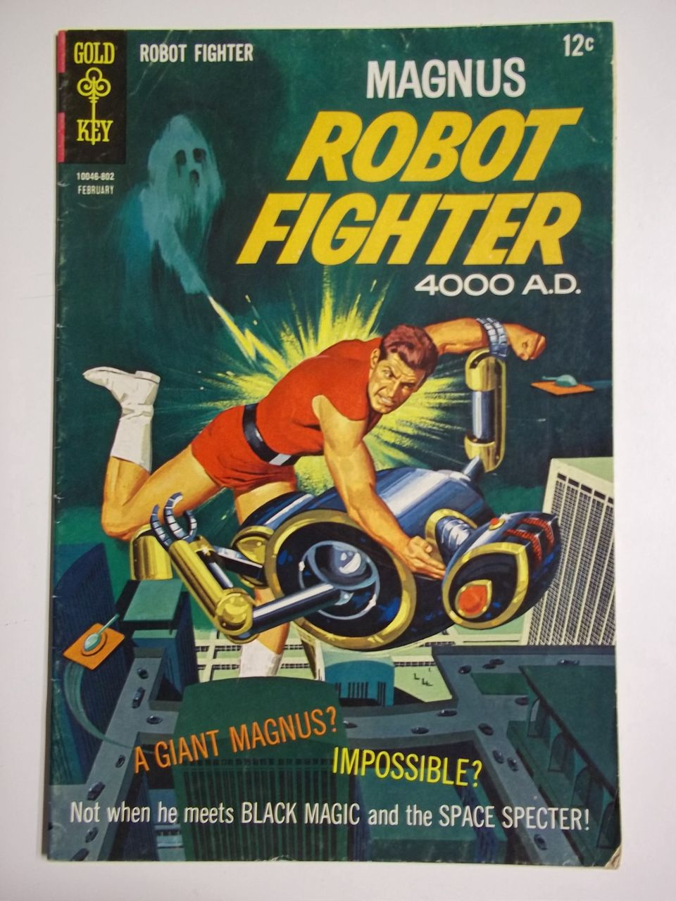 Gold Key Comics Magnus Robot Fighter No. 21, Feb. 1968