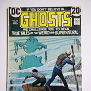 DC Comics Ghosts Vol. 3, No. 16, July 1973