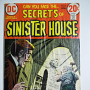 DC Comics Secrets of Sinister House No. 12, Vol. 3, July 1973