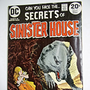 DC Comics Secrets of Sinister House No. 13, Volume 3, Sept. 1973