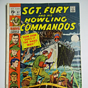 Marvel Comics Sgt. Fury and His Howling Commandos No. 87, Vol. 1, May 1971