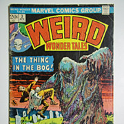Marvel Comics Weird Wonder Tales, Vol. 1, No. 3, April 1974