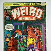 Marvel Comics Weird Wonder Tales, Vol. 1, No. 5, Aug. 1974
