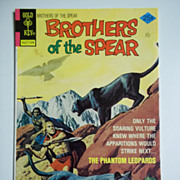 Gold Key Comics Brothers of the Spear No. 15, Aug. 1975