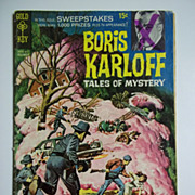 Gold Key Comics Boris Karloff Tales of Mystery No. 28, Dec. 1969