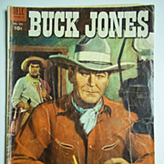 RARE! Dell Comics Buck Jones No. 589, 1954