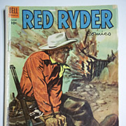 RARE! Dell Comics Red Ryder No. 121, Aug. 1953