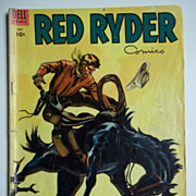 RARE! Dell Comics Red Ryder No. 120, July 1953
