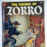 Dell Comics The Sword of Zorro No. 497, 1953