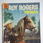 Dell Comics Roy Rogers' Trigger No. 92, Vol. 1, Aug. 1955