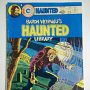Charlton Comics Baron Weirwulf's Haunted Library No. 43, Vol. 9, July 1979
