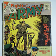 Charlton Comics Fightin' Army No. 44, Vol. 1, Dec. 1961