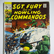 Marvel Comics Sgt. Fury and His Howling Commandos No. 73, Vol.1 Dec. 1969