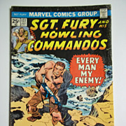 Marvel Comics Sgt. Fury and His Howling Commandos No. 127, Vol. 1, July 1975