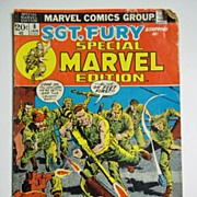 Marvel Comics Sgt. Fury Special Marvel Edition Vol.1, No. 8 Jan. 1973