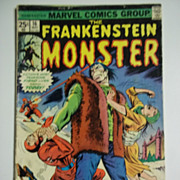 Marvel Comics The Frankenstein Monster Vol. 1, No. 16, May 1975