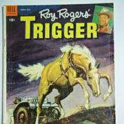 Dell Comics Roy Rogers' Trigger No. 12, March-May 1954
