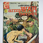Charlton Comics Army War Heroes No. 27, Vol. 1, Oct. 1968