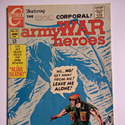 Charlton Comics Army War Heroes No. 25, Vol. 1, June 1968