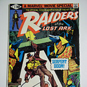Marvel Comics Indiana Jones Raiders of the Lost Ark No. 2, Vol. 1, Oct. 1981