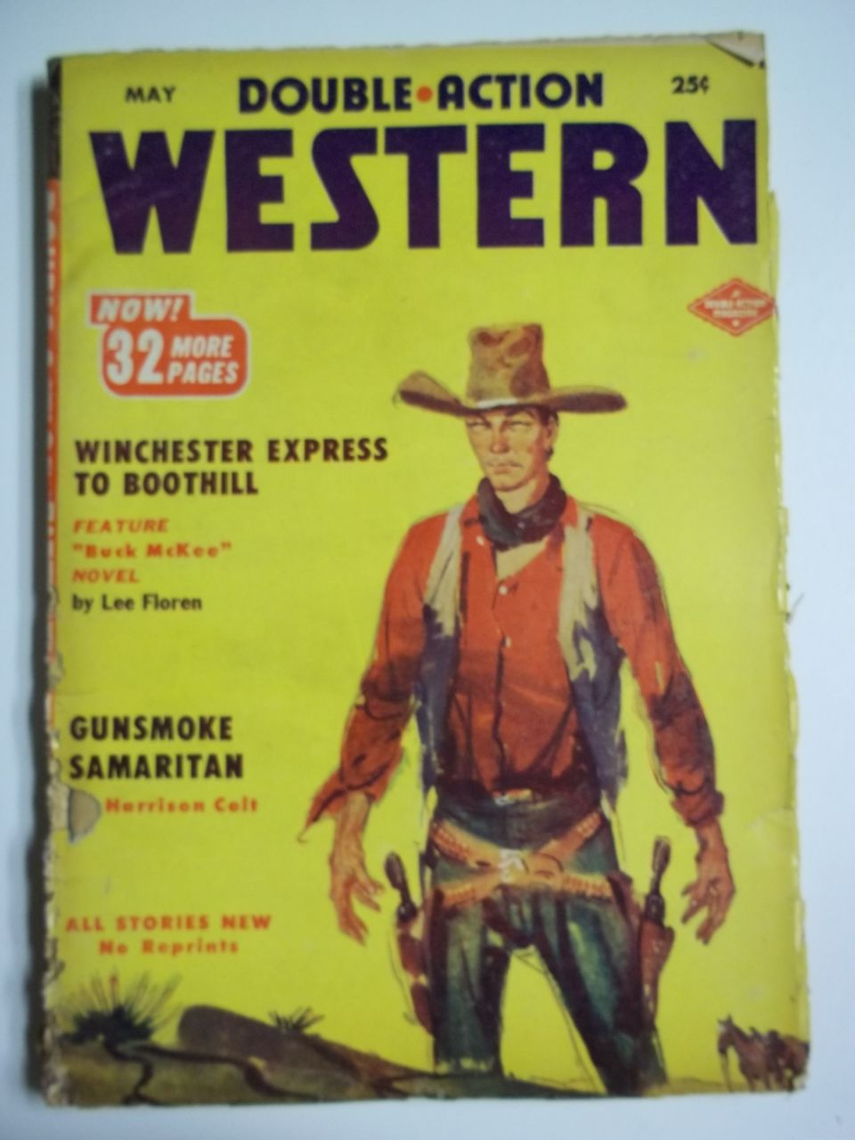 Double Action Western No. 5, Vol. 20, May 1953 Pulp Western Magazine