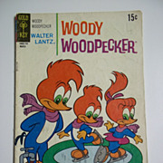 SOLD Gold Key Comics Woody Woodpecker No. 116, March 1971