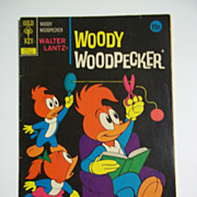 SOLD Gold Key Comics Woody Woodpecker No. 126, Oct. 1972