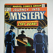 Marvel Comics Journey Into Mystery No. 11, Vol. 1, June 1974