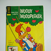 SOLD Gold Key Comics Woody Woodpecker No 123, May 1972