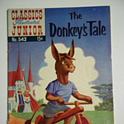 Classics Illustrated Junior No. 542, Sept. 1957 HRN 543