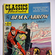 Early Edition Classics Illustrated No. 31, Oct. 1946: The Black Arrow