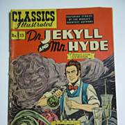RARE! Early Edition Classics Illustrated No. 13: Dr. Jekyll and Mr. Hyde HRN 71