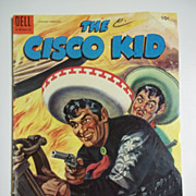 SOLD Dell Comics The Cisco Kid No. 25, Feb. 1955