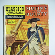 1st Edition Classics Illustrated No. 100: Mutiny on the Bounty