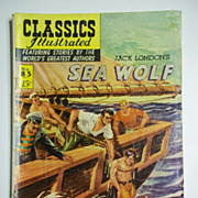 1st Edition Classics Illustrated No. 85: The Sea Wolf HRN 85