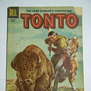 Dell Comics Tonto No. 28, 1957