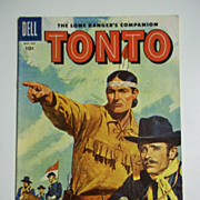 Dell Comics Tonto No. 21, 1956