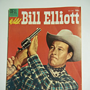 Dell Comics Wild Bill Elliott No. 15 1954