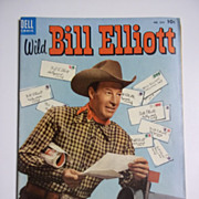 Dell Comics Wild Bill Elliott No. 520 1953