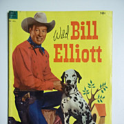 Dell Comics Wild Bill Elliott No. 472 1953
