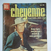 Dell Comics Cheyenne No. 12 1959