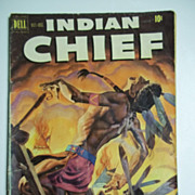 Dell Comics Indian Chief No. 4 Vol. 1 1951
