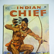 Dell Comics Indian Chief No. 3 Vol. 1 1951