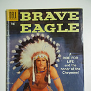 Dell Comics Brave Eagle No. 929 1958