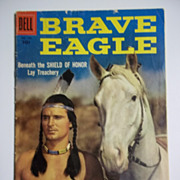 Dell Comics Brave Eagle No. 770 1957